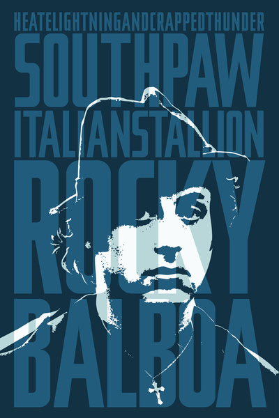 Rocky Balboa by Barrett Biggers