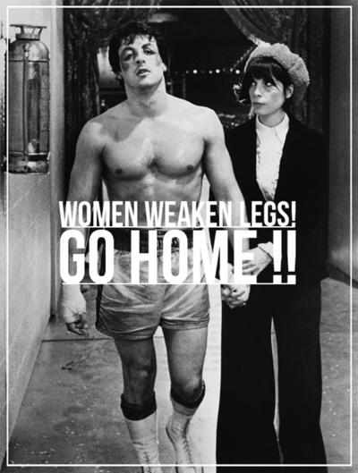 Women weaken legs by Bertrand Goncalves